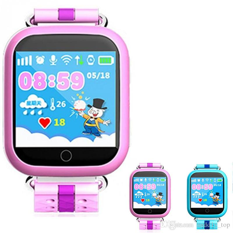 Gps часы smart baby watch q60 wi fi