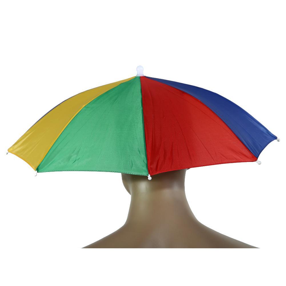 Umbrella Hat Parapluie Sun Umbrella Sun Shade Camping Hiking Fishing Umbrella Festivals Outdoor Brolly Parasol