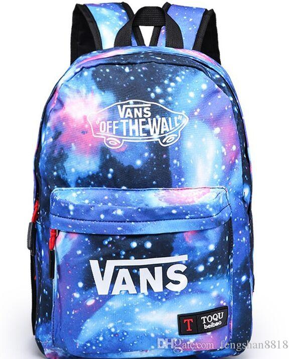 New Galaxy Stars Universe Space printing backpack women men school backpack bag Travel bag free shipping