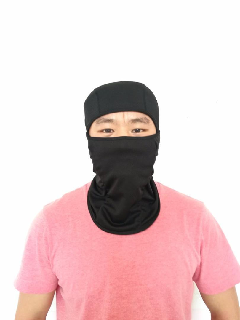 Full Face Mask Hat Simulation CS Games Single Hole Mask Riding Cycling Caps  Windproof Dust-Proof Sun Block Cap
