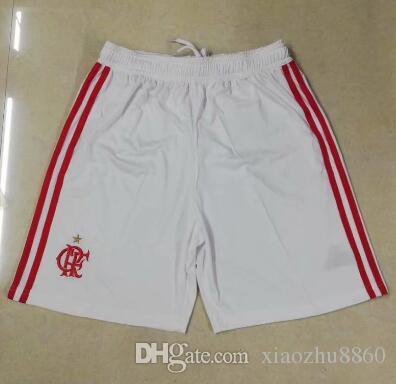 NEW Thai Quality 2018 White CR Flamengo Soccer Shorts 18 19 Flamenco ... 3c68c149d0666