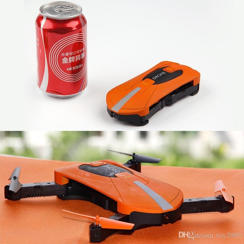 JY018 Cep RC Drone WiFi FPV Quadcopter Mini Katlanabilir Özçekim Drone RC Drones 2 milyon Kamera ile HD FPV Profesyonel H37 720 P