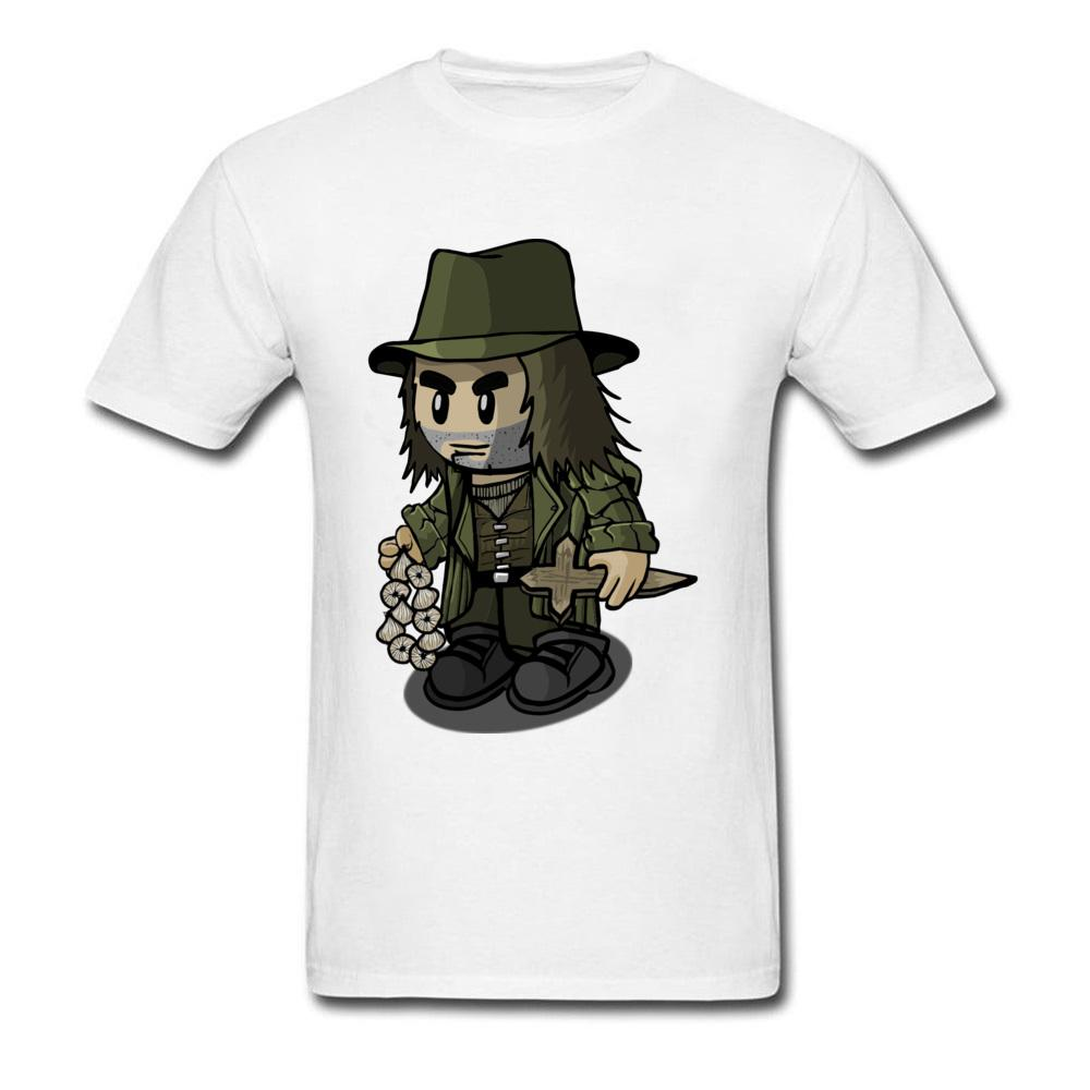 d4bcdf82cf302 Normal Tops T Shirt Men Pure Cotton Small USA Size White Cartoon X Vampire  Hunter T Shirt For Student Slim Fit Wholesale Tee Shirt For Sale Worlds  Funniest ...