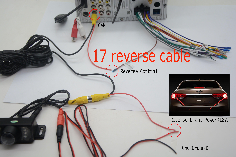 6.Waterproof HD Rear Car Rear View Cameras Reverse 360 degree range 170 degree wide angle Night Vision Backup Parking Camera Black