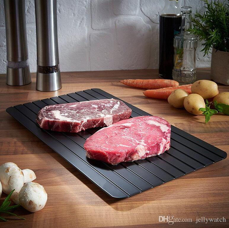 Quick Thawing Food Fast Safest Frozen Meat Board Tool Kitchen Defrosting  Tray 29 5x20 8x0 2cm 10pcs