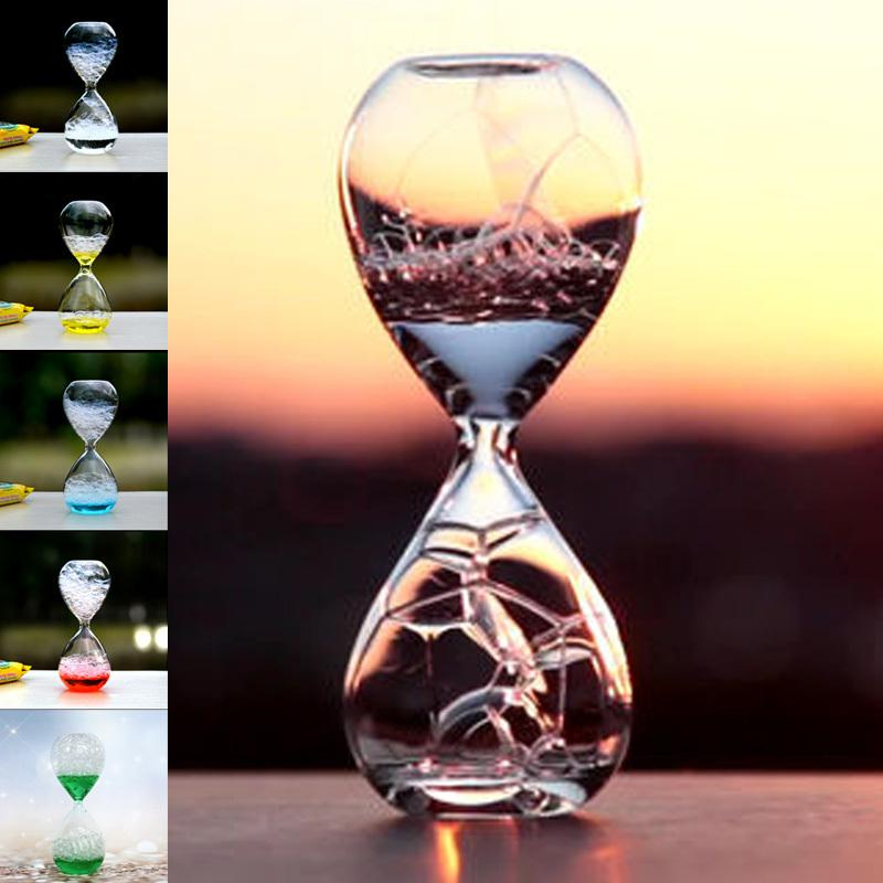2018 Ouyun Magic Glass Bubble Hourglass Office Accessories Room Decoration Gifts Student Desk Decorative From Fair2017