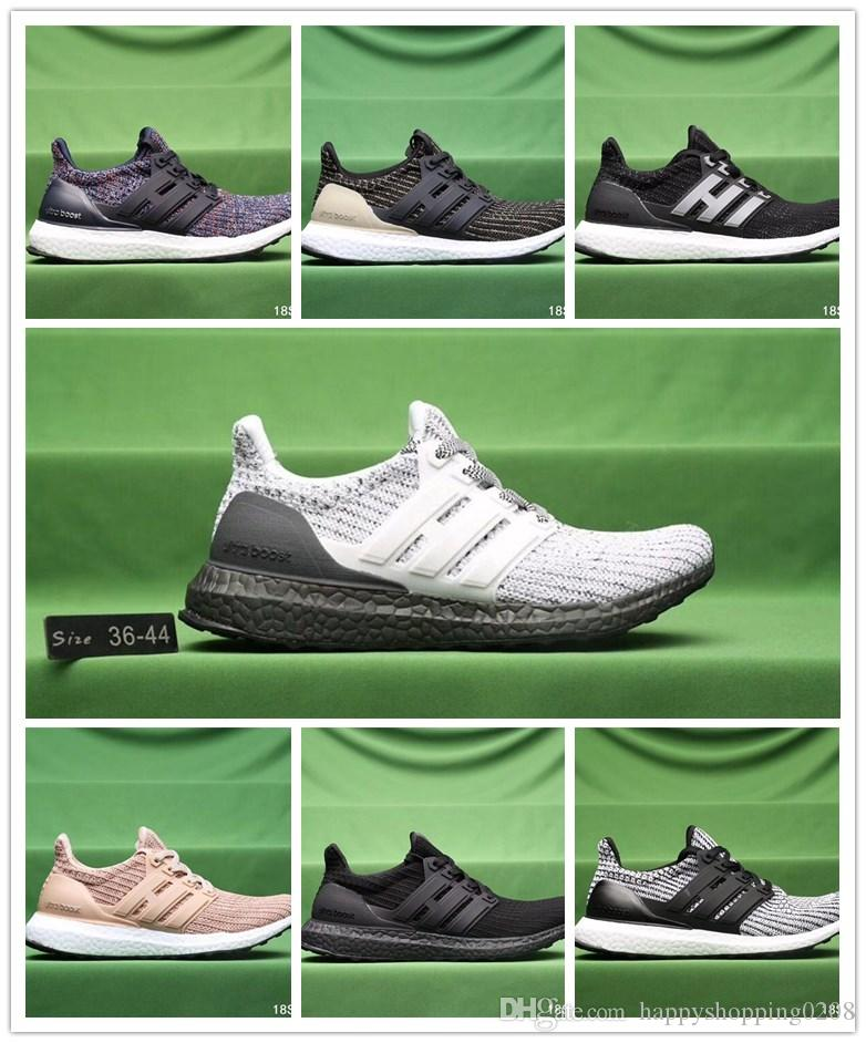2018 Ultraboost 3.0 Triple Black running shoes for men wowen Ultra boost 3.0 sports shoes 3 ,size Eur 36-44