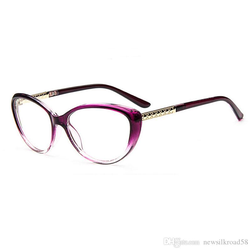 9ef87f33bc09 NEW Women Progressive Multifocal Glasses Photochromic Reading Glasses Cat  Eye Spectacle Glasses Presbyopia Reader With Case Folding Reading Glasses  With ...