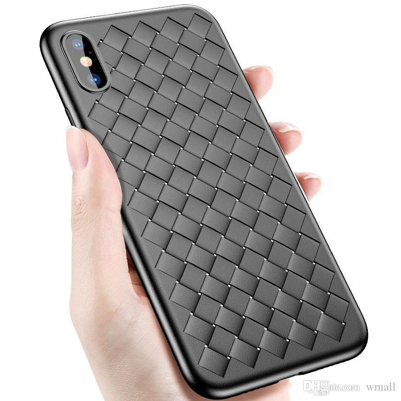 new for iphone 6s 7 8 x plus cell phone cases knit lines fashion