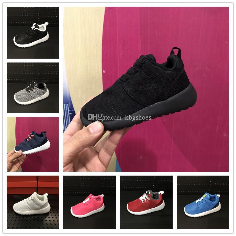 cac1b08c6 Compre Nike Roshe Run Rosherun Zapatillas Para Niños Infantiles Zapatillas  Para Correr Niños Bebés Niñas Zapatos Deportivos Para Niños Zapatillas  Deportivas ...