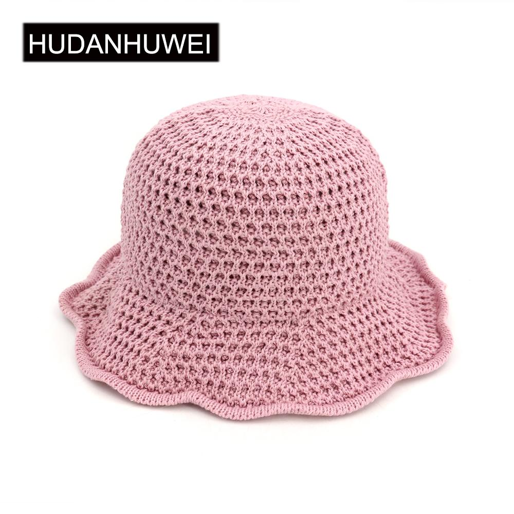 21965f05681 Hot Sale Korean Straw Sun Hats For Women Crochet Straw Beach Hat Sun  Protection Hat Female HBSNM023 Baby Sun Hat Summer Hats For Women From  Vintage66