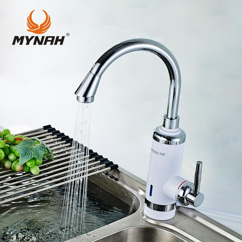 2019 Russia High Quality Kitchen Faucet Electric Instantaneous Water