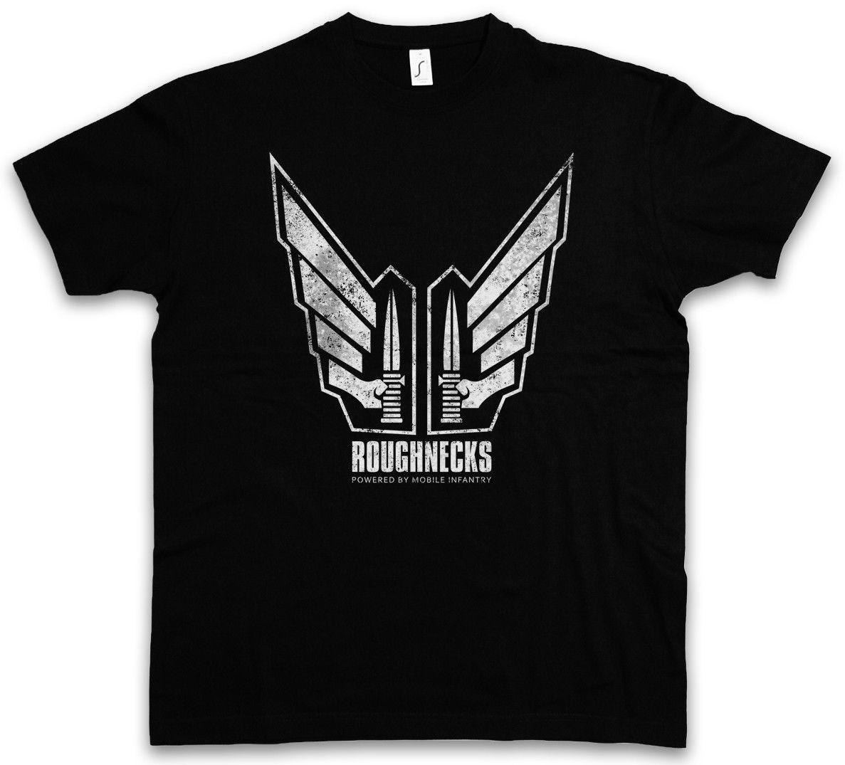 RICOS ROUGHNECKS DAMEN T-SHIRT Tattoo Starship Symbol Sign Logo Squad Troopers