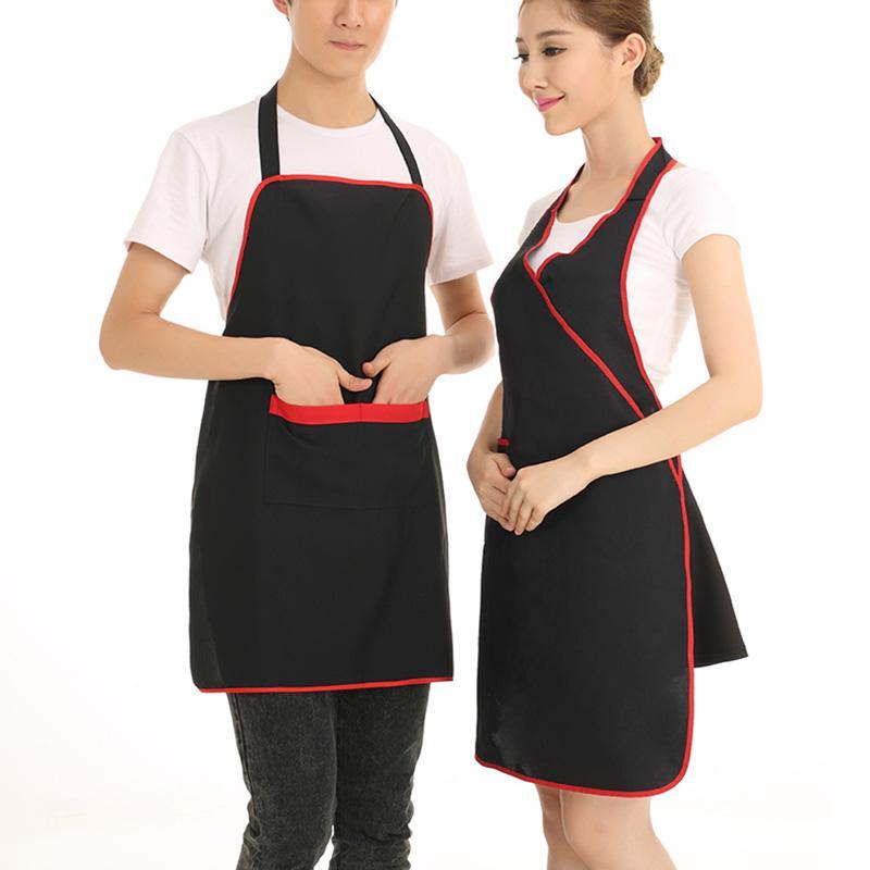 Acquista Famiglia Ristorante Hotel Uniforme Abbigliamento Da Lavoro  Grembiule Da Cucina Grembiule Da Cucina Uomo Donna Chef Lungo A  32.21 Dal  Windomfac ... 892f81f6b676