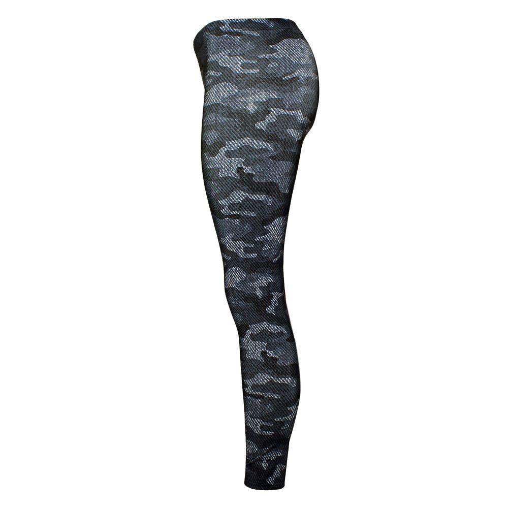 20187 AZULINA Women Leggings Camo Skull Head 3D Printed Camouflage Legging 2018 New Fitness Leggins Slim Elastic Trousers Pencil Pants
