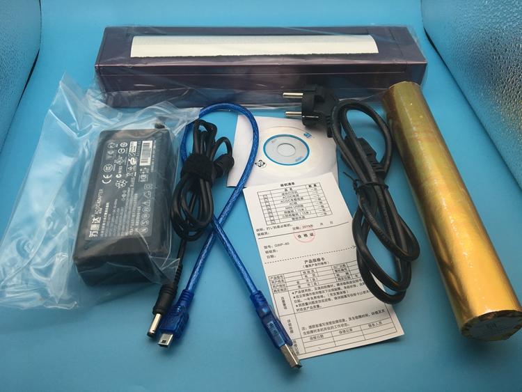 A4 ورقة الطابعة الحرارية الطابعة الوشم المحمولة التحويل الحراري البسيطة لا حاجة ل خراطيش الحبر واجهة USB