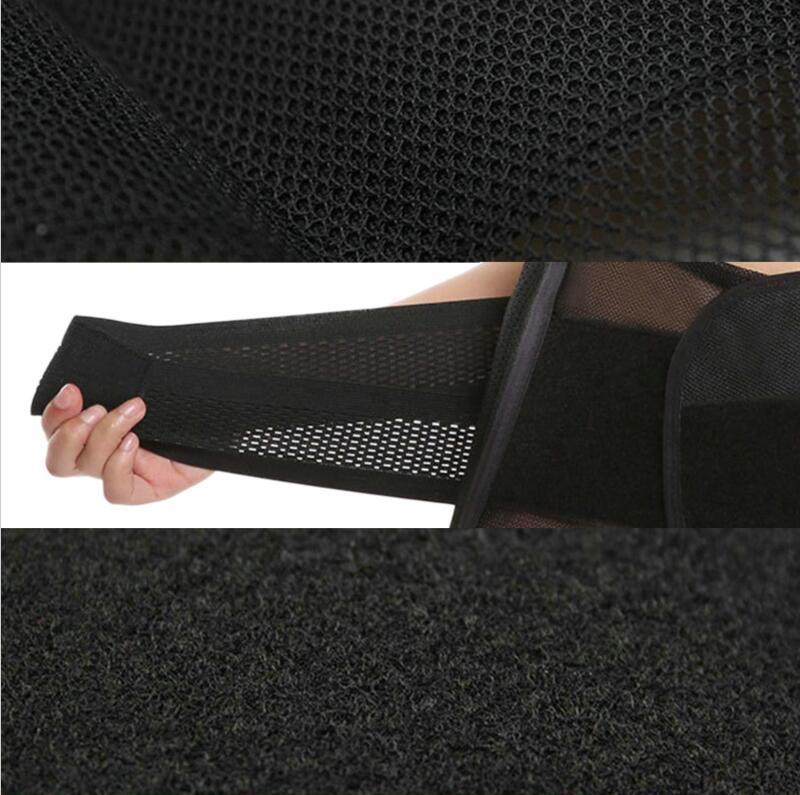 la aptitud de las mujeres de Cintura de la cintura del condensador de ajuste del corsé Ventilar la pérdida ajustable panza de Trainer cinturón de peso que adelgaza la correa