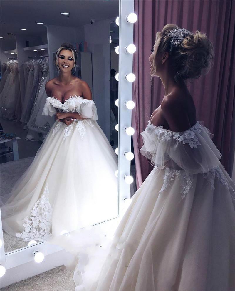 0e495cfc7e9 Cheap Simple Wedding Dress Halter Neck Line Discount Corset Blush Wedding  Dress