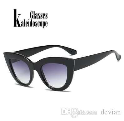 Compre Mulheres Cat Eye Sunglasses Marca Designer Retro Óculos Hd Lens  Eyewear Senhoras Moda Cateye Óculos De Sol Do Vintage Feminino Uv400 De  Devian, ... d7a6eb7a2f