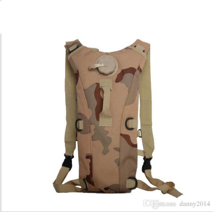 outdoor 3L Hydration Packs Tactical Water Bag Assault Backpack Hiking Pouch Backpacks Shoulder Bags Camping Bicycle Bladder Hydration