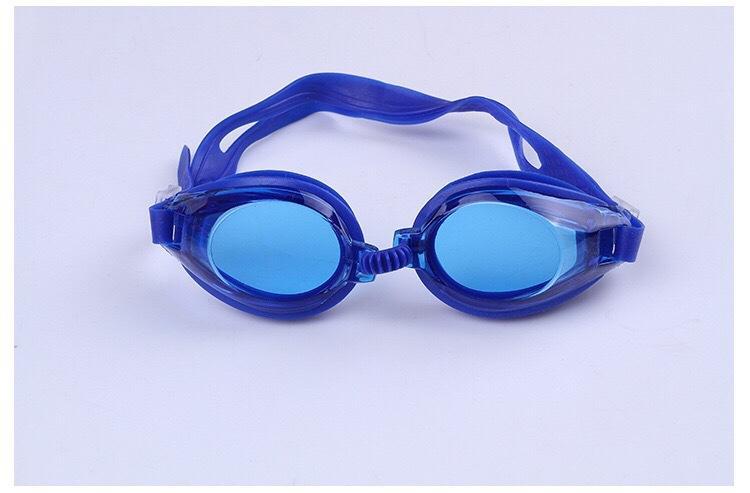 Water Fun Swimming Glasses Kids Anti Fog للبنين بنات السباحة نظارات الأطفال نظارات الرياضة الطفل السباحة نظارات سدادات مجانية