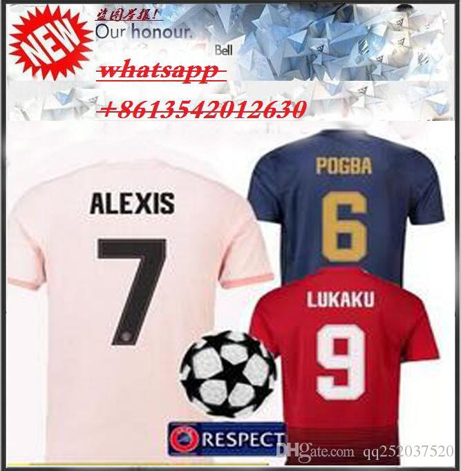 fe494ecd6 18 19 MANchester PLAYER VERSION UNITED CHAMPIONS LEAGUE SOCCER ...