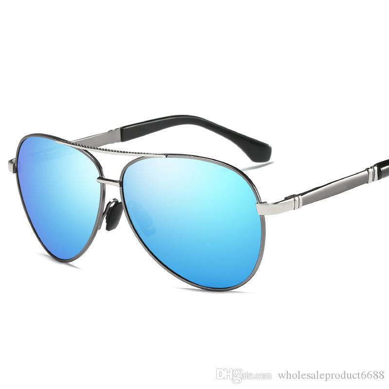 bb769a9f39f Driving Polarized Sunglasses for Men Women UV Protection Mirror Coating Black  Frame Eyewear Male Sun Glasses UV400 Protection S510A Polarized Sunglasses  ...