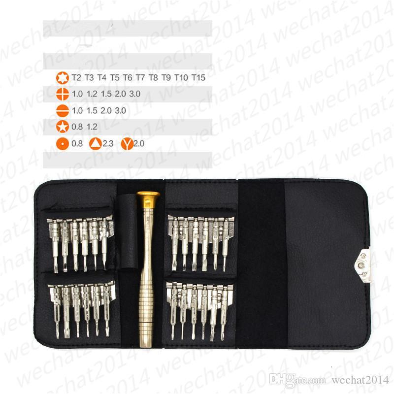 Repair Pry Kit Multipurpose Reparing Tools 25 in 1 Opening Tools for Cell Phone Laptops Computers