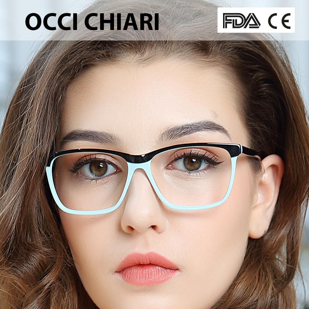 c3f5639f6c02 2019 OCCI CHIARI Fashion Big Rim Eyeglasses 54cm For Women Spring Hinge  Prescription Lens Medical Optical Glasses Frame W ZOPPI From Fashionable16