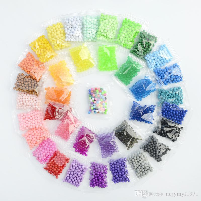 wholesale good quality 3D Magic Water Beads Aqua Beads as Children Puzzles  DIY Water Spray hama perler beads Hand Making