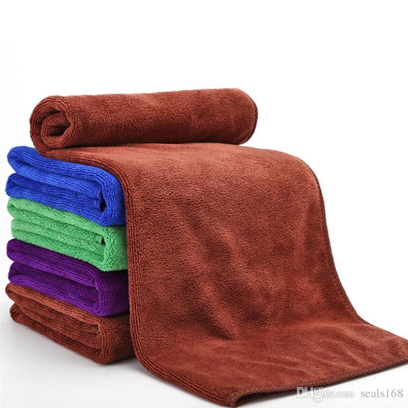 새로운 청소 옷감 빠른 건조 물 섭취 자동 청소 수건 초극세 섬유 주방 청결 미용실 타월 30 * 70cm FBA HH7-799