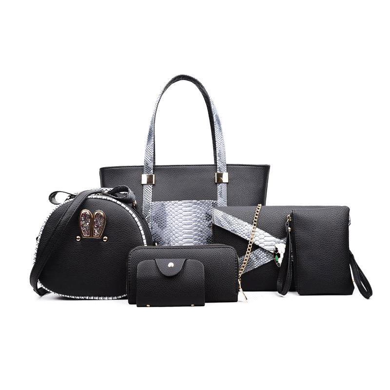 Women Pu Handbags 2018 Ladies Shoulder Bag Female Casual Tote Women ... bc4783785653b