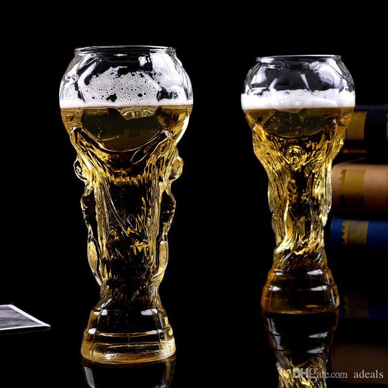 15 oz bear cup 2018 world cup football fans gift glasses cup heat resisting championship trophy 450ml bar bear mug