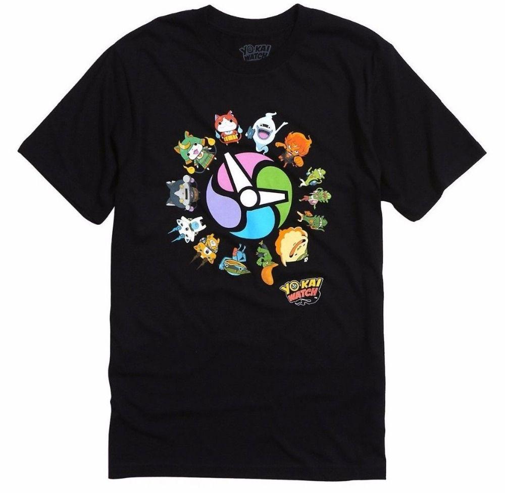 b8aad4f9cb9 2018 New Fashion Brand Clothing Design Tee ShirtANIME Yo Kai Yokai Watch  CHARACTERS T Shirt NWT 100% Authentic Online T Shirt Buy Joke T Shirt From  Teemall