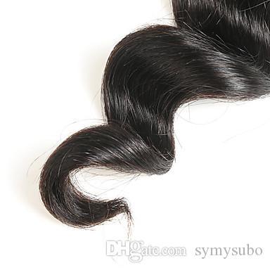 100% brasilianische reine Körperwelle Haarverlängerung 10-30