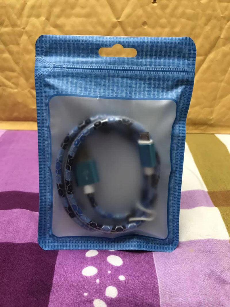 10,5 * 15 centímetros Pacote Zipper Retail Bag embalagem Box OPP plástico PVC Retail Package Box para Phone Case Headphone Cabo USB