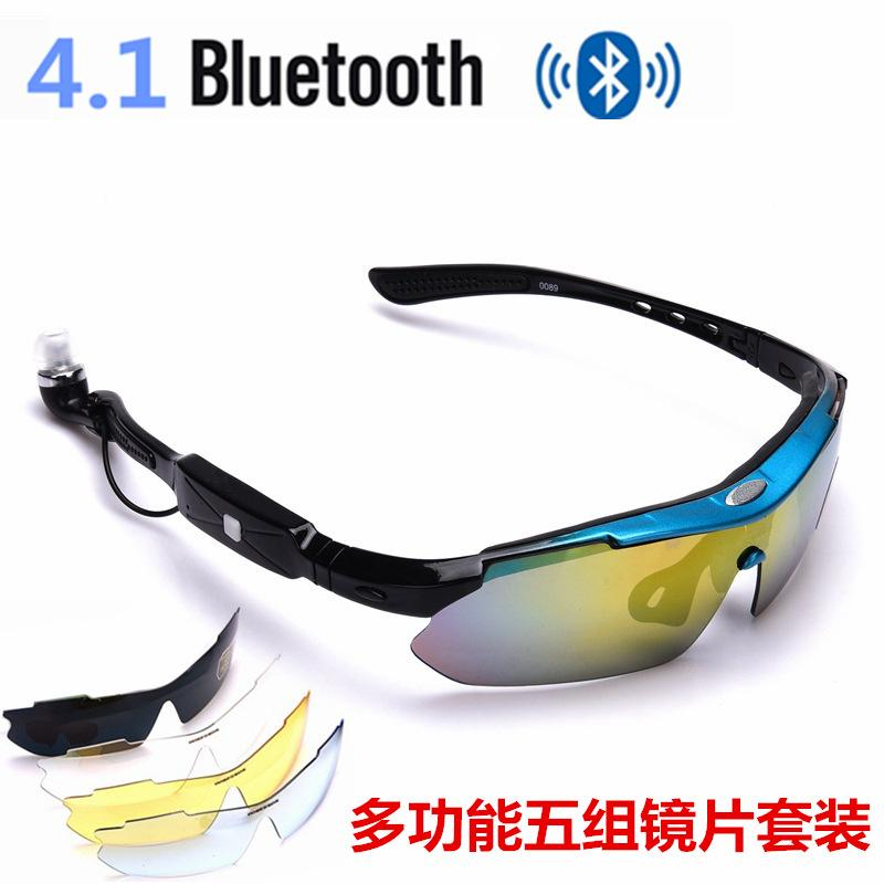 37e3a1f4114 4.1 Stereo Bluetooth Glasses Smart MTB Bike Cycling Accessory For ...