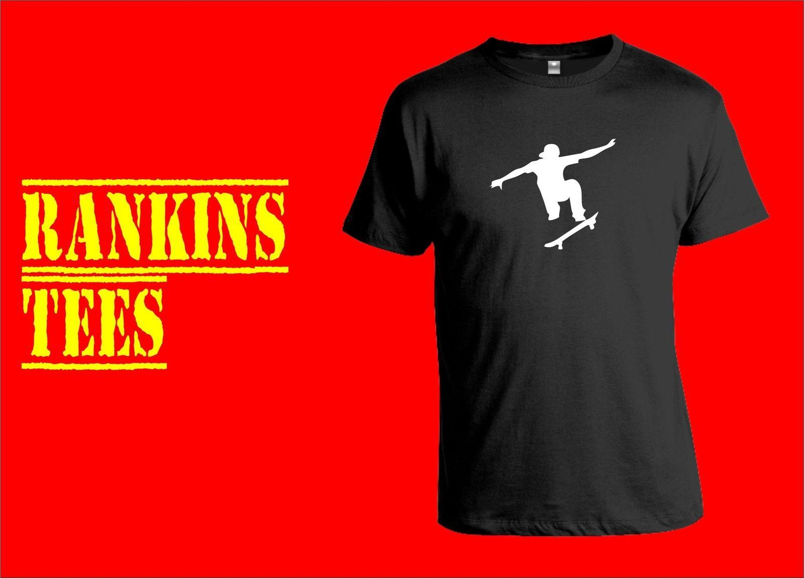 SKATEBOARDING T Shirt Skateboard T-shirt Tee Clothing Apparel