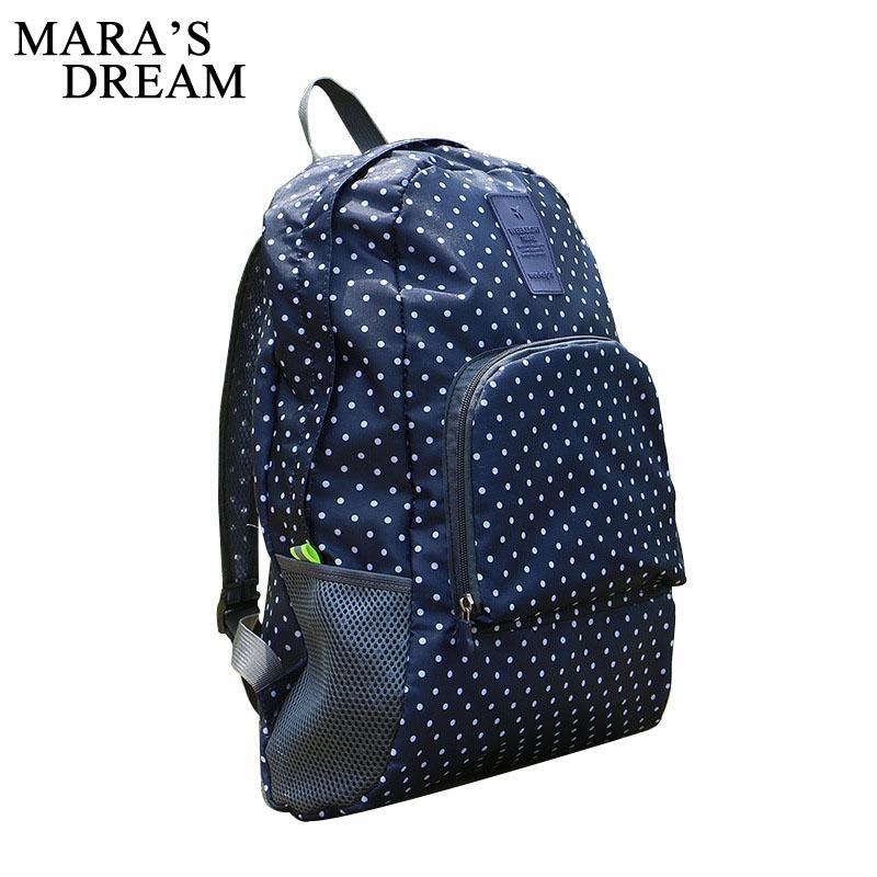 8bcbf0b607 Mara S Dream Lightweight Oxford Foldable Backpack Waterproof Backpack  Folding Bag Ultralight Printing Pack Bag For Girls Travel Running Backpack  Osprey ...