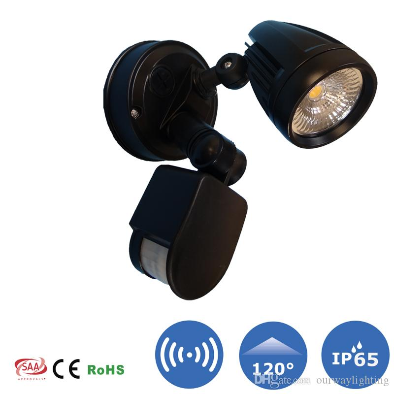 Head Motions Offer Better Way To Detect >> 2019 1 Light Head Security Wall Mount Motion Detection Auto Switch
