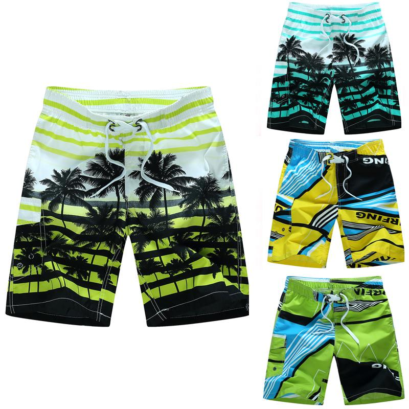c362be9b64 2018 New Men Swimming Trunks Pop Print Quick Dry Swimming Shorts ...