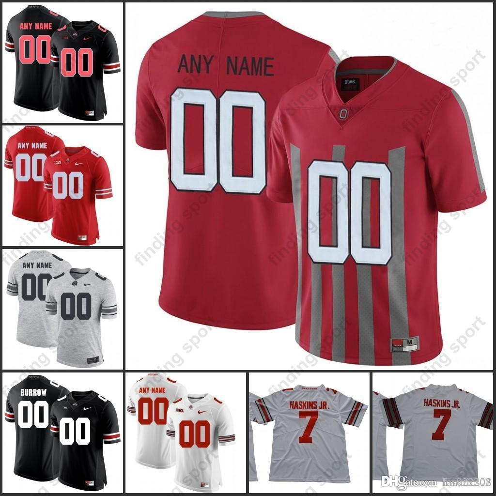 dfeb526b9 2019 Custom 2018 NCAA Ohio State Buckeyes OSU College Football ...