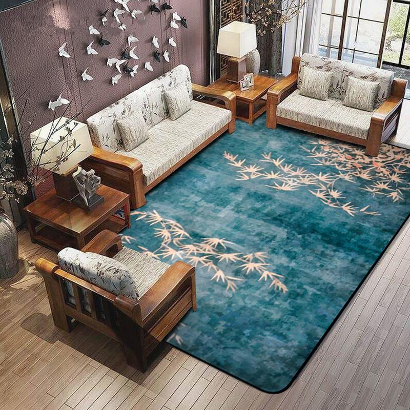 Traditional Chinese Carpets For Living Room Warm Area Rugs For