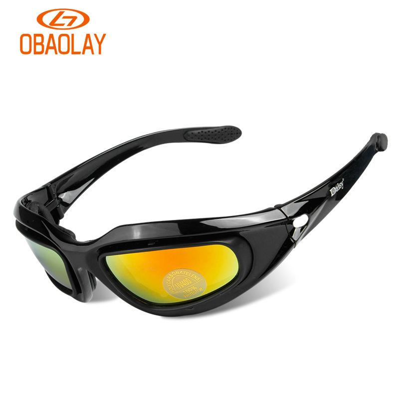 51d74af1b1 2019 Polarized Cycling Glasses 4 Lens Kit CS Tactical Protective Glasses  Ultraviolet Proof Outdoor Sports Fishing Bicycle Sunglasses From Kupaoliu