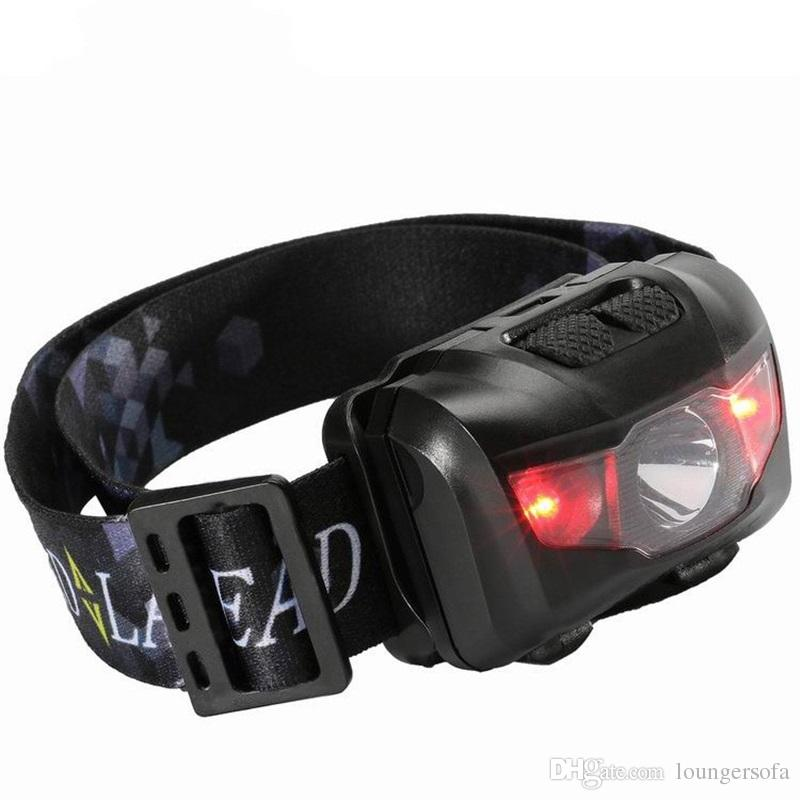 5W White Red Light Headlamps Waterproof Fishing LED Headlights Super Light Easy For Carry Outdoor Sport Headlamp 13cr X