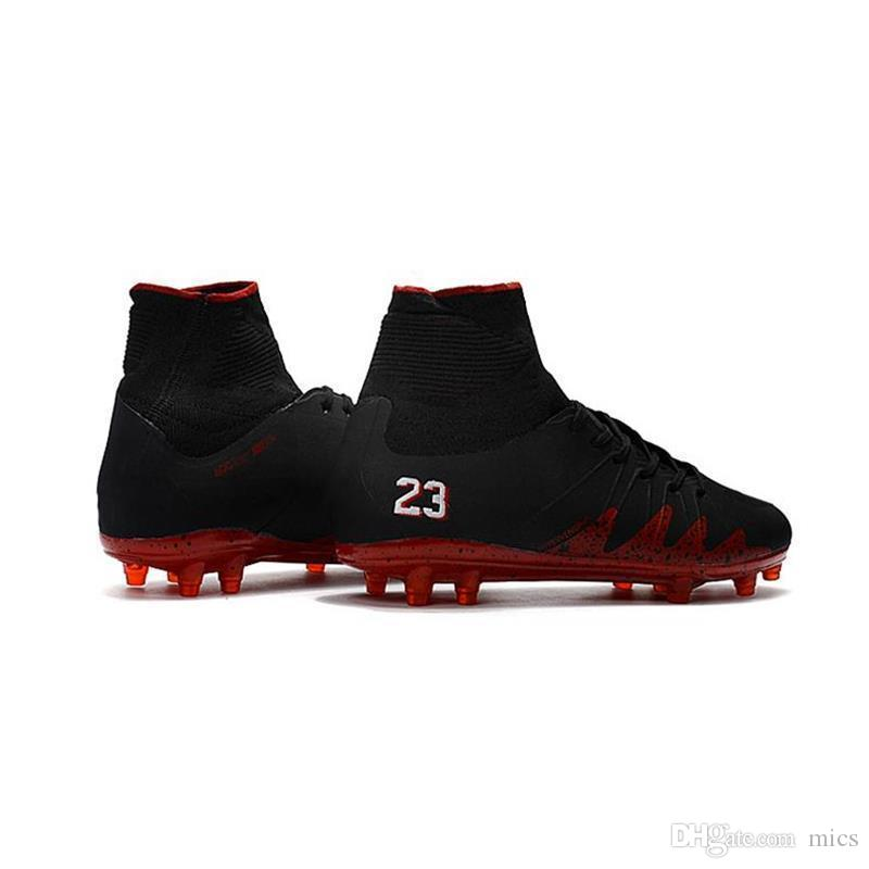 667e646bb4f0 2019 New Sale 2017 Black/Red Hypervenom Phantom II FG Neymar X JR Soccer  Cleats CR7 Indoor Soccer Shoes For Men From Mics, $67.95 | DHgate.Com