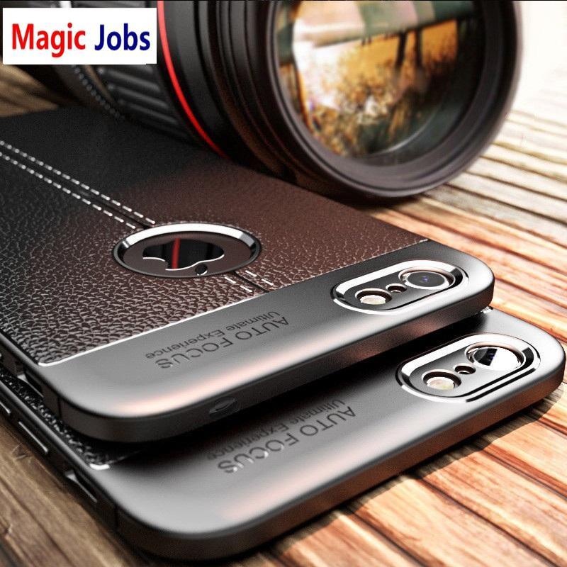 e5ca59d23e83 Étui Téléphone Portable Coque Magic Jobs Pour Iphone 5s 5 SE 7 6s X Housse  De Protection En Silicone Noir Anti Salissure Pour Iphone 6 6S 7 8 Plus  Housse ...