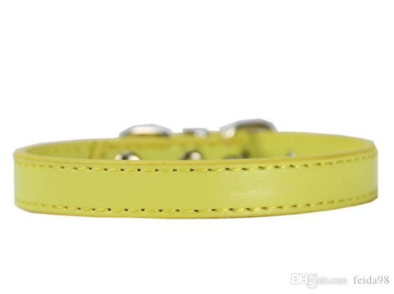 Pet products manufacturer, Pu pet circle, various color belts, quality necklaces, pets L064.