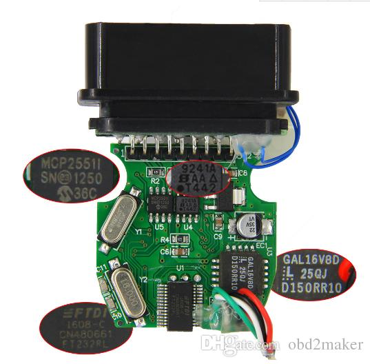 New FTDI FT232RL For BMW INPA K+DCAN With Switch Function Easy Working K CAN INPA DIS SSS NCS Coding For BMW Series Car