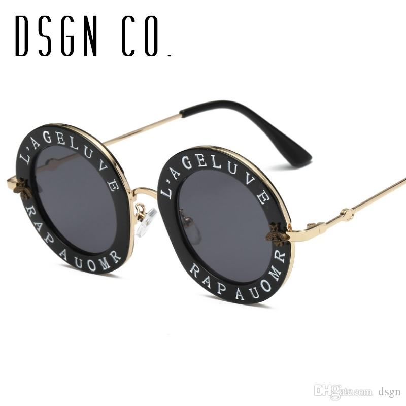 29aa01d19d6 2018 Designer Sunglasses For Men And Women Classic Oversize Round Frame  Fashion Sun Glasses UV400 Sport Sunglasses Prescription Sunglasses Online  From Dsgn